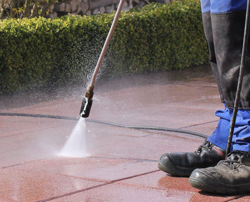 Anti Slip Solution Pressure Cleaner